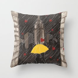 Right Time, Right Place Throw Pillow