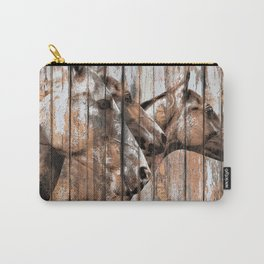 Run With the Horses Carry-All Pouch