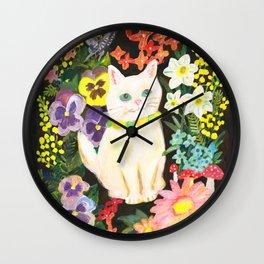 I Am a Cat Wall Clock