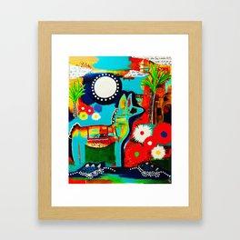 Mexican Love Framed Art Print