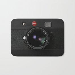 Retro Black doff Vintage camera iPhone 4 5 6 7 8 x, pillow case, mugs and tshirt Bath Mat