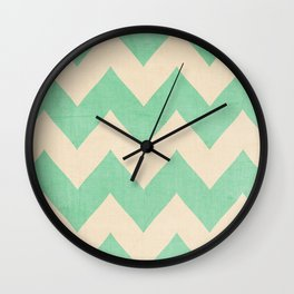 Malibu - Chevron Wall Clock