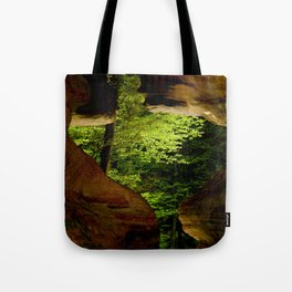 Cave-out Kiss Tote Bag