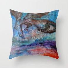 Beware of Dragon Throw Pillow