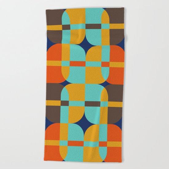 Geometric#20 Beach Towel