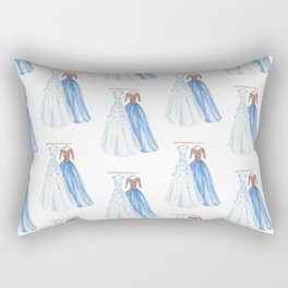 Two Dresses 3 Rectangular Pillow