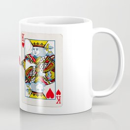 The King knows what the heart wants. Coffee Mug