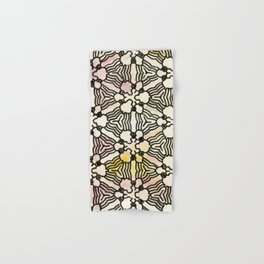 Floral Circuitry Hand & Bath Towel