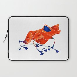 Poison Dart Frog Laptop Sleeve