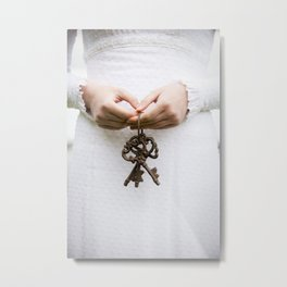 Three keys Metal Print