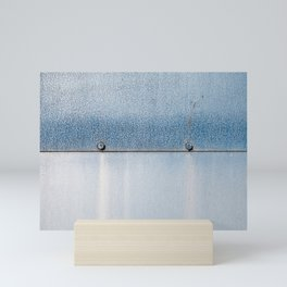 Blue over Blue 02 Mini Art Print