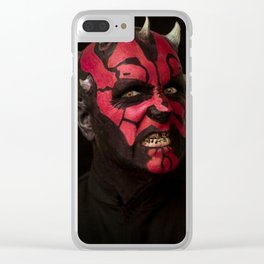 Mister Maul Clear iPhone Case