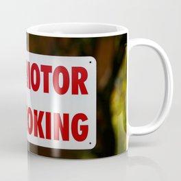 Stop Motor No Smoking Coffee Mug