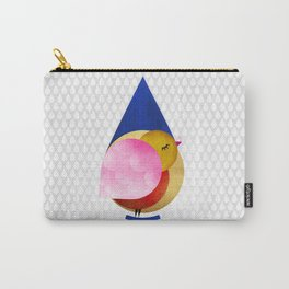 039 birdie kisses the sweet morning raindrop Carry-All Pouch