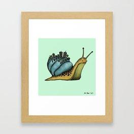 Snail City Framed Art Print