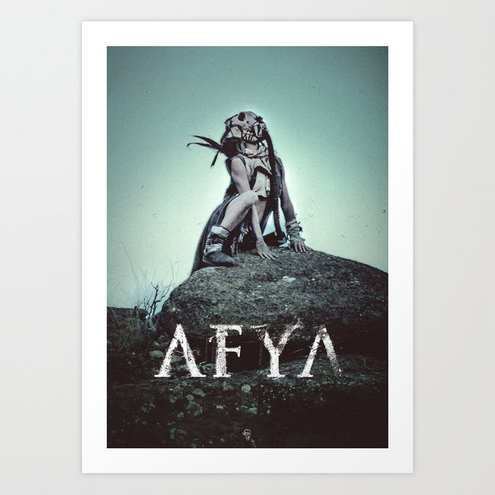 AFYA - deluxe print Art Print