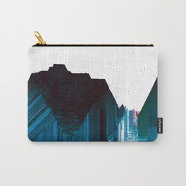 Glitch Valley Blue Carry-All Pouch