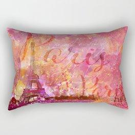 If you love Paris Rectangular Pillow