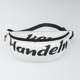 Thinking Is Acting Fanny Pack