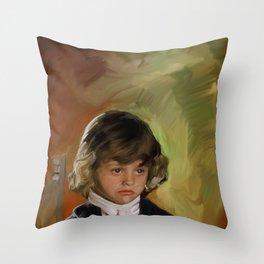young Frank Churchill Throw Pillow