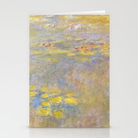 monet Stationery Cards featuring Monet by Palazzo Art Gallery