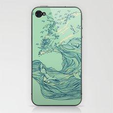 Ocean Breath iPhone & iPod Skin