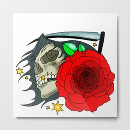 Will Reap Metal Print