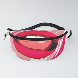 Sexy Pink Lips Fanny Pack