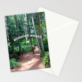 Adventure - go find it Stationery Cards