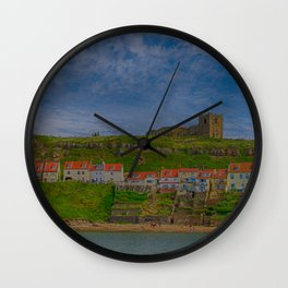 Postcard from Whitby Wall Clock