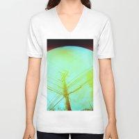 lsd V-neck T-shirts featuring LSD by Natalie Olmo