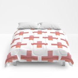 Paint Peeling Like Mars Cross Gradient Comforters