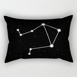 Libra Astrology Star Sign Rectangular Pillow