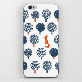 Lost in the Woods ( a Fox adventure) iPhone Skin