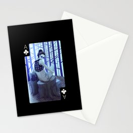 Ace of Clubs (Dark) Stationery Cards
