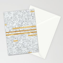 Hints of Gold Stationery Cards