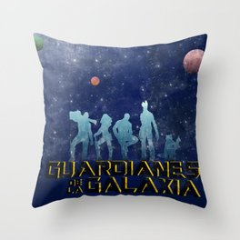 Guardianes de la Galaxia Throw Pillow