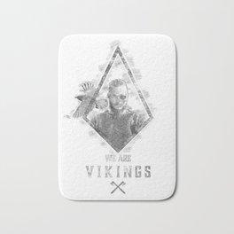 Ragnar Lodbrok | Viking legend Bath Mat