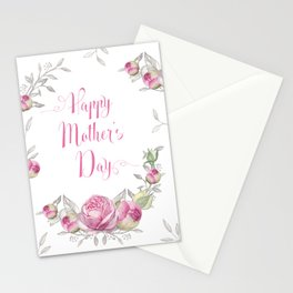 Mother's Day - Roses Stationery Cards