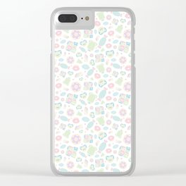 Baby Marshmallow Clear iPhone Case