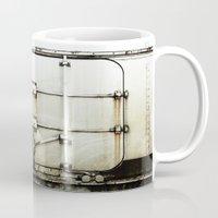 metal Mugs featuring metal by alina vasile