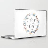 narnia Laptop & iPad Skins featuring Courage Dear Heart by IndigoEleven