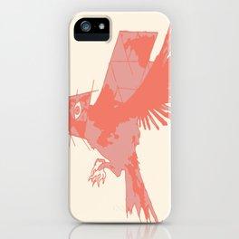 Tilted Bird iPhone Case