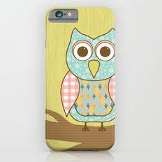 Owl on Tree Branch iPhone 6s Slim Case