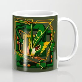 Mega Rayquaza Coffee Mug
