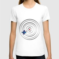 chicago bulls T-shirts featuring Bulls Eye by Nivedhna