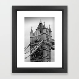 London ... Tower Bridge I Framed Art Print