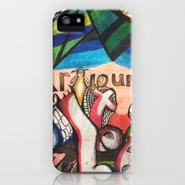 The Hangar Lounge iPhone Case