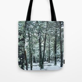 Spring Snow Tote Bag