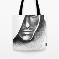 assassins creed Tote Bags featuring Assassins Creed by Renus3000